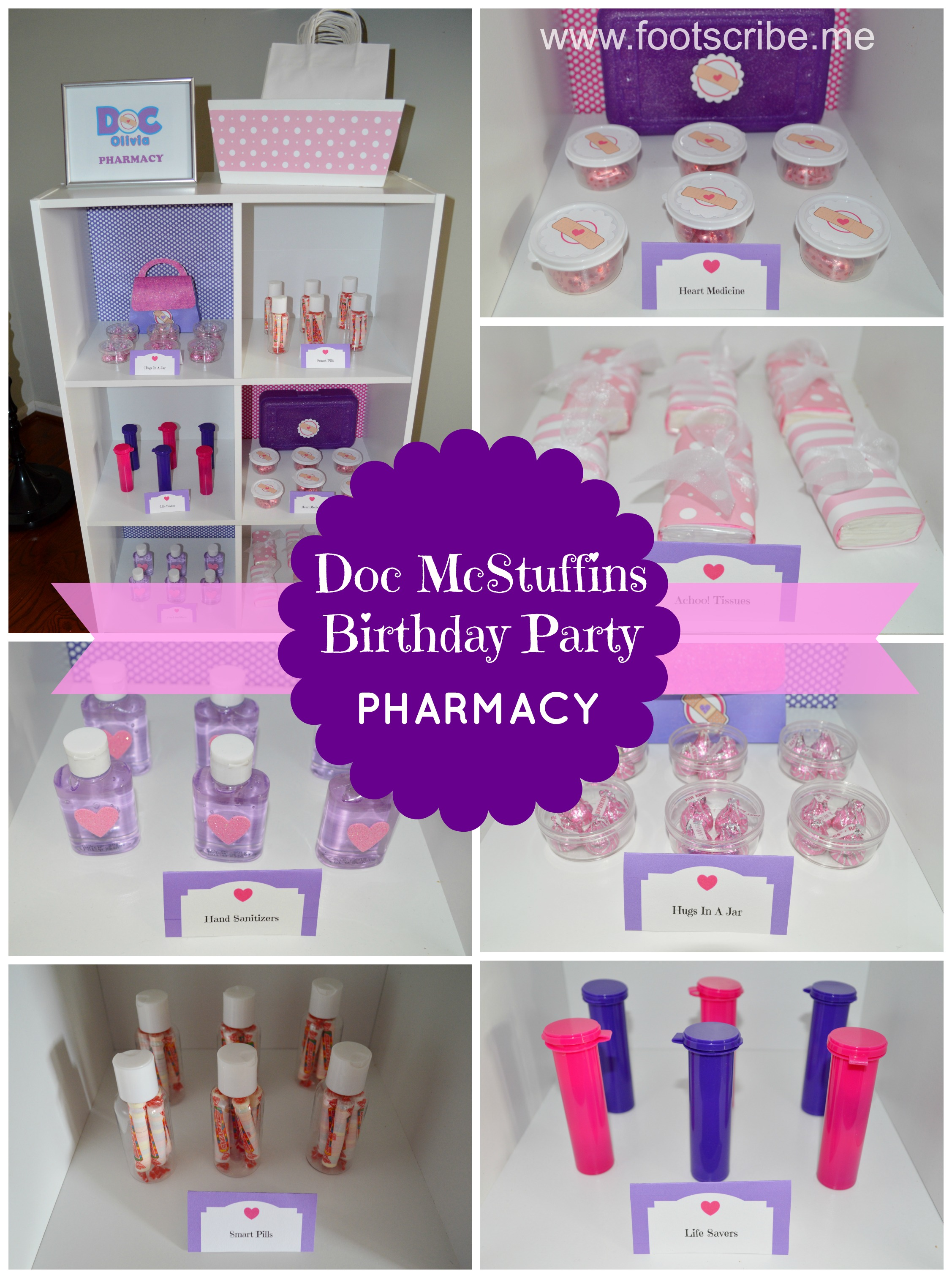my s happy healthy doc mcstuffins birthday party foot