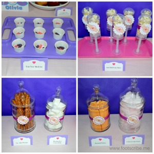 Doc McStuffins birthday party food treats