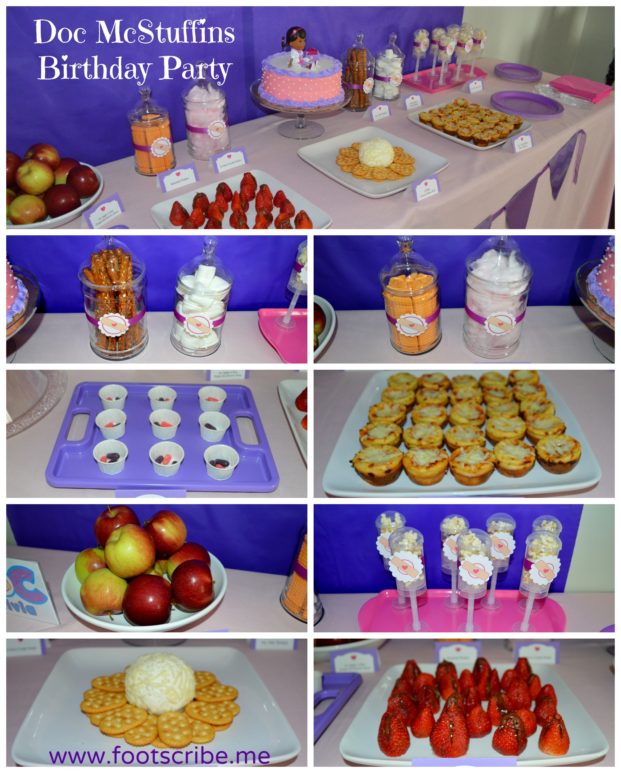 My Daughter's Happy Healthy Doc McStuffins Birthday Party