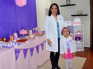 Podiatrist's Doc McStuffins Party for her daugter